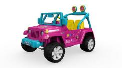 Power Wheels® Barbie™ Jeep® Wrangler - (FFR86)Mattel - Mattel, Inc.