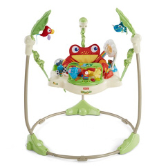 Fisher Price Rainforest//Roaring Jumperoo Spares Replacement White Seat Unit