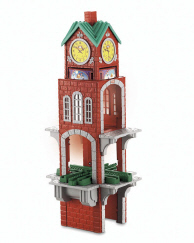 Geotrax clock tower instructions.