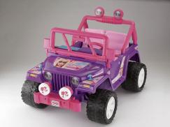 Barbie Jammin' Jeep on