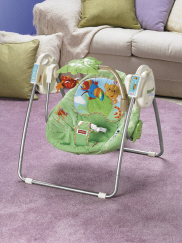 fisher price rainforest swing instruction manual