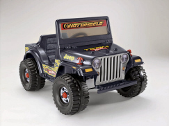 Modified Power Wheels - Blitz Hot Wheels Jeep (Pictorial & Specs)